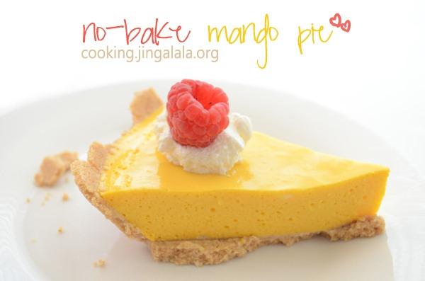 Mango Pie Recipe No Bake Mango Pie Recipe Cooking Jingalala